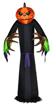 Halloween Gemmy 8 ft Pumpkin Scarecrow Airblown Inflatable Lights Up NEW... - £65.23 GBP