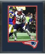Kyle Van Noy Super Bowl LIII #53 - 11x14 Team Logo Matted/Framed Photo - $43.55