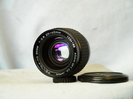 Pentax Auto 110 SLR Camera 20-40mm Zoom Lens  - Nice - Working Well - - $60.00