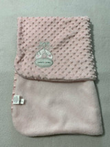 Blankets & Beyond Pink Ballerina Ballet Sippers Raised Bump Dot Baby Bla... - $17.99