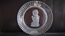 "Goebel's 1978 ""Praying Angel""Crystal Christmas Plate - $25.99"