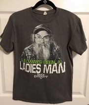 "Duck Dynasty ""I ALWAYS BEEN A LADIES MAN"" Adult Small Gildan Funny T-Shirt - $7.80"