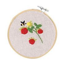 Handmade Embroidery DIY Kit Cloth Materials Cross Stitch Starter Kit, Be... - $14.55