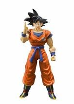 Bandai S.H. Figuarts Dragon Ball Z DBZ Son Goku Saiyan Grown on Earth FR... - $53.30