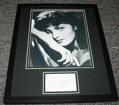 Ursula Thiess Signed Framed 11x14 Photo Display  - $52.00