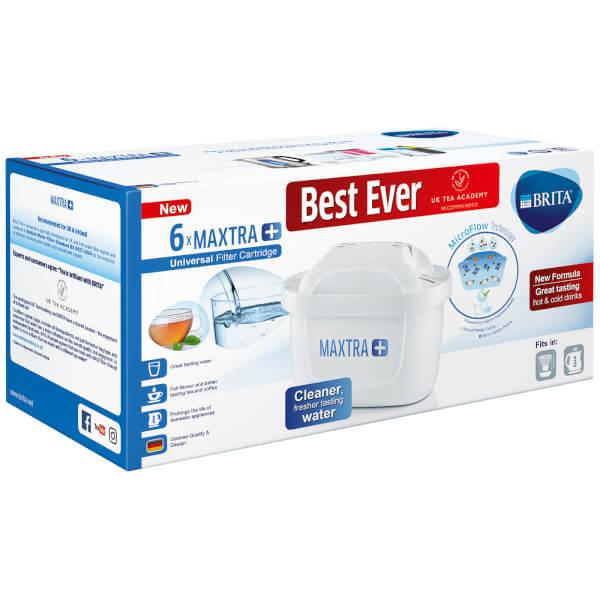 BRITA Maxtra+ Water Filter Cartridges, White, Pack of 6 (UK Version) - $55.55