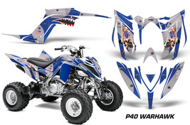 ATV Graphics Kit Decal Sticker Wrap For Yamaha Raptor 700R 2013-2018 WAR... - $168.25
