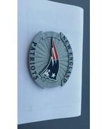 New England Patrionts Nfl Logo Belt Buckle - $21.85