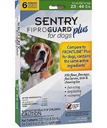 Sentry 6 Count Fiproguard Plus For Dogs Squeeze-on (23-44 pound) - $788,35 MXN