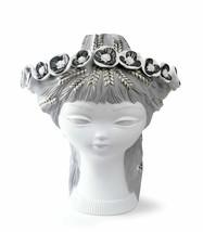 Lladro Retired BUCOLIC HEAD (White & Silver) Statue Figurine 01007286 Ne... - $1,382.50