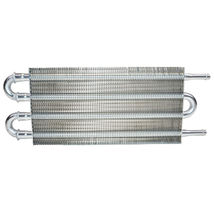"3/8"" Universal Aluminum Transmission Oil Cooler 12-3/4"" X 5"" X 3/4"" image 3"