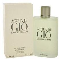 Acqua Di Gio Eau De Toilette Spray By Giorgio Armani - $109.00
