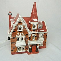 Dept 56 Snowhouse Series Parsonage 1984 Retired Lighted Building No Box Vtg - $29.69