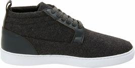 WeSC Men's Charcoal Melange Hagelin Melton Wool Fashion Sneakers Shoes NIB image 4