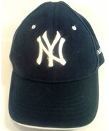 NEW YORK YANKEES HAT CAP JUNIOR BLUE ACRYLIC ADJUSTABLE - $17.95
