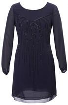 "COAST Ellie Beaded Midnight Blue Dress BNWT """""" Very Rare """""" - $115.63"