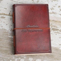 """She Persisted"" Handmade Leather Journal - $45.00"