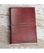 """""""She Persisted"""" Handmade Leather Journal - $45.00"""
