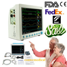 FDA CMS8000 Vital Signs ICU Monitor 6-parameter Patient Monitor,OPTIONAL... - $494.01