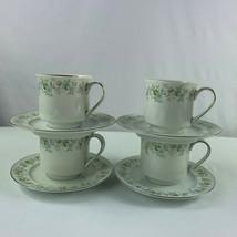 Johann Haviland Forever Spring Cups Saucers Lot of 4 Sets - $20.74