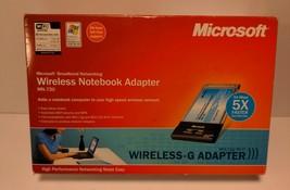 Microsoft Wireless - G Notebook Adapter MN-720 Broadband Networking High Speed - $9.99
