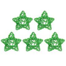 (04)5pcs 6cm Lovely Rattan Star Ball DIY Hanging Ornaments Xmas Birthday... - $14.00