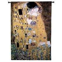 32x53 THE KISS Gustav Klimt Woman Art Tapestry Wall Hanging - $199.95