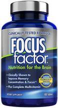 Focus Factor Brain Supplement Multivitamin Improve Memory and Clarity Bo... - $29.99