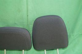 11-15 Dodge Journey 2nd Row Black Cloth 3 Headrests Headrest w/ Cupholder image 3