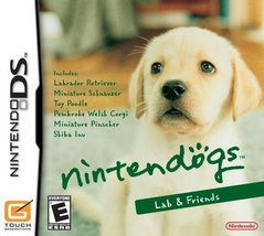 Nintendogs Lab & Friends [video game] - $3.91
