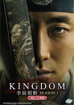 Korean Drama Kingdom Season 1 DVD Vol.1-6 End 2019 English Sub Ship From USA
