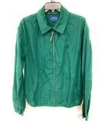 Men's Polo by Ralph Lauren Vintage Army Green Hunting Zip Up Jacket Medium - $49.49