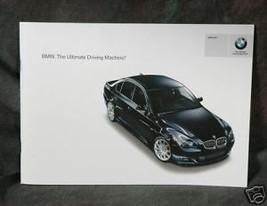 2007 BMW Vehicle Lineup - $3.00