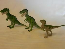 Jurassic Park Lost World Set of 3 Small T-Rex and Duck Bill Dinosaur Fig... - $22.28