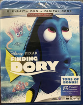Finding Dory Disney Pixar Blu-ray + DVD + Digital Code NEW - $17.65