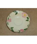 Franciscan Vintage Tea Saucer 5 3/4in Floral Desert Rose USA Earthenware - $10.76