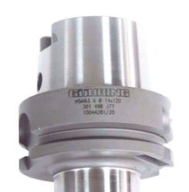 GUHRING HSK63 A TOOLHOLDER CT-62596 14X120 W/ 14MM SOLID CARBIDE STEPDRILL image 4