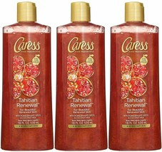 Caress Tahitian Renewal Exfoliating Body Wash, 18 Ounce (Pack of 12) - $98.70