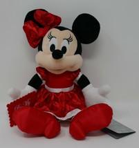 "Disney Store Minnie Mouse Be My Valentine 12"" Plush Stuffed Animal w/Tags - $14.95"