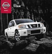 2013 Nissan TITAN sales brochure catalog US 13 PRO-4X SL Heavy Metal - $7.00