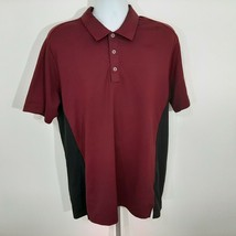 Adidas Puremotion Men's Golf Polo Size Large Maroon DQ19 - $10.39