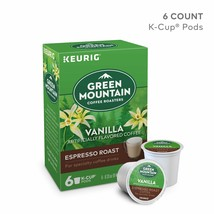 Vanilla Artificially Flavored Coffee Espresso Roast, 6 k-cup pods - $5.76
