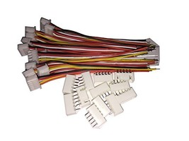 LATTECH 12 PCS 5 PIN JST XH Female Connector on One Side - 100mm 1007 26... - $10.53