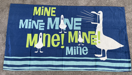 Disney Parks Finding Nemo Mine Seagulls Beach Towel NEW - $37.90