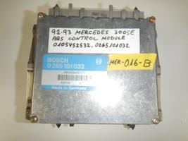 92-93 MERCEDES 300SE  ABS CONTROL MODULE  0105452532 / 0265101032  (MER-... - $9.85