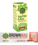 Protein Bar Almond + Magnesium Whey & Milk Protein + Nettle Root Immune ... - $28.70