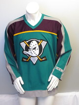 Anaheim Mighty Ducks Jersey - 1997 3rd Jersey by CCM - Men's Large  - $149.00