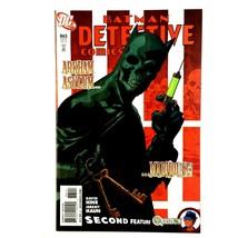Detective Comics 865 DC 2010 VF+ Black Mask  - $2.92