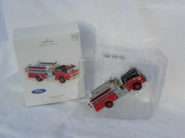 "2007 Hallmark Fire Brigade Series ""1988 Ford C8000"" Lighted Christmas Or... - $19.99"