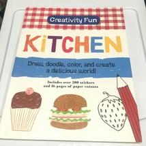 Creativity Children's Book Craft Kitchen Activity Book Doodle Art Learn ... - $14.60